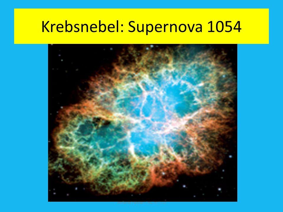 Nova (10 8 Neutronen pro cm 2 pro sec) und Supernova Explosion 10 22 Neutronen pro cm 2 pro sec. Elektroneinfang: (Z, N) + e - (Z-1, N+1) +Neutrino p