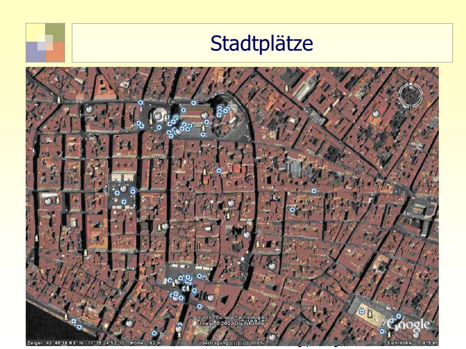 55 TU Berlin, ISR SoSe 2004 Bodennutzungsplanung II Stadtplätze