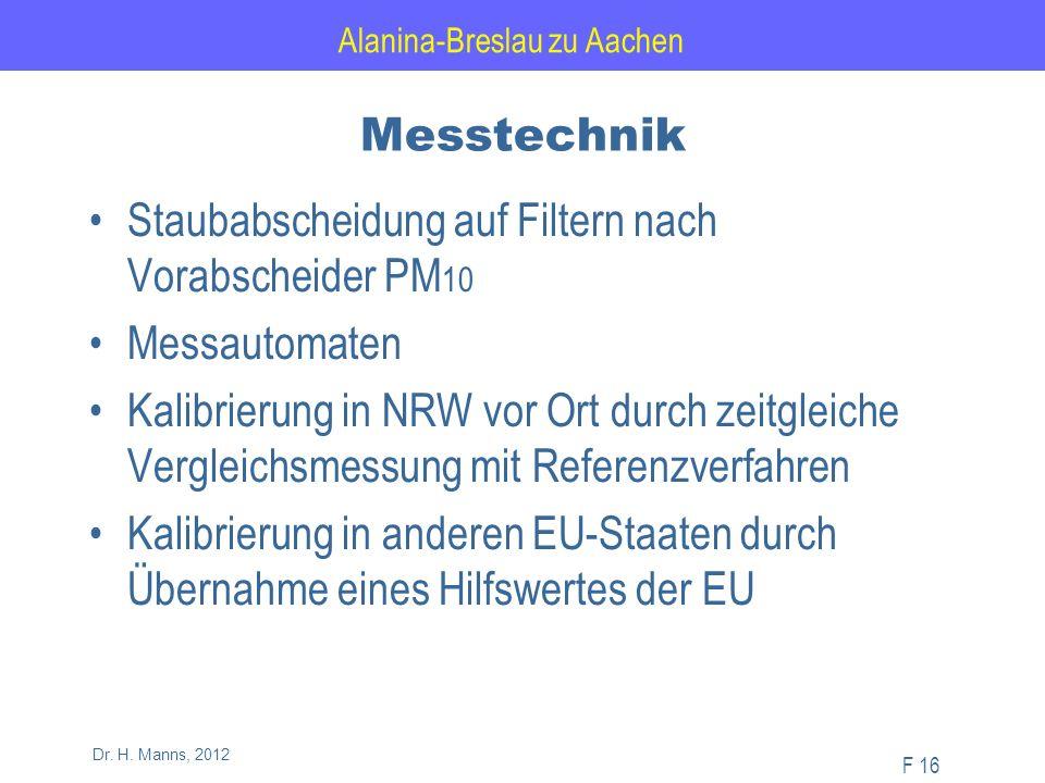 Alanina-Breslau zu Aachen F 16 Dr. H.