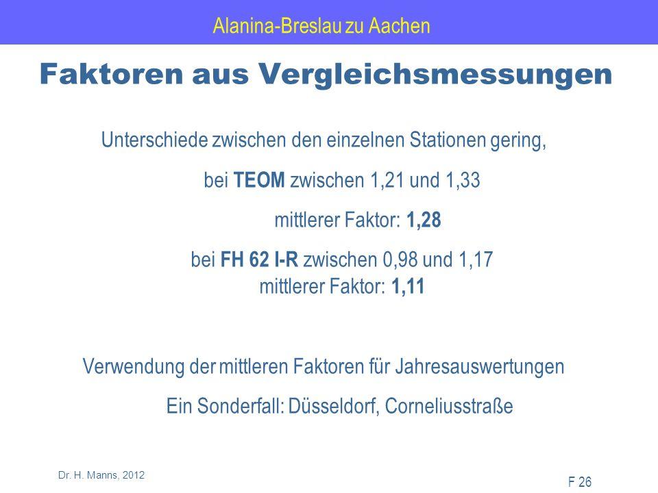 Alanina-Breslau zu Aachen F 26 Dr. H.