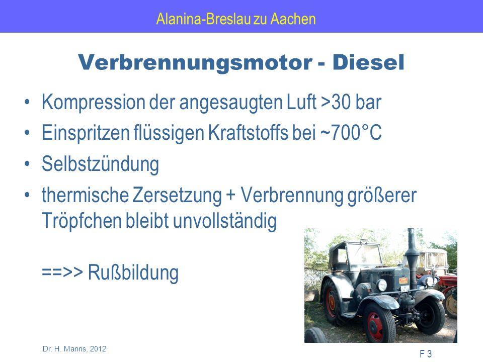 Alanina-Breslau zu Aachen F 34 Dr. H. Manns, 2012 Verkehrsstation: Graf-von-Galen Ring in Hagen