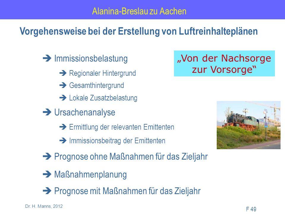 Alanina-Breslau zu Aachen F 49 Dr. H.