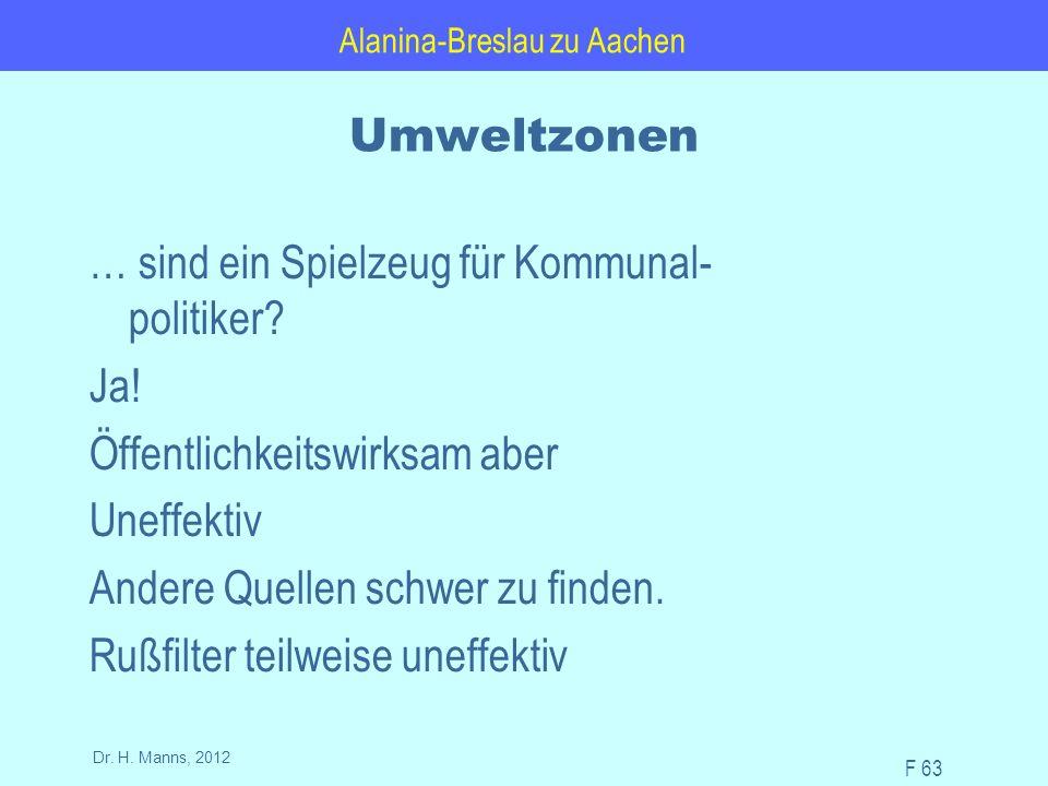 Alanina-Breslau zu Aachen F 63 Dr. H.