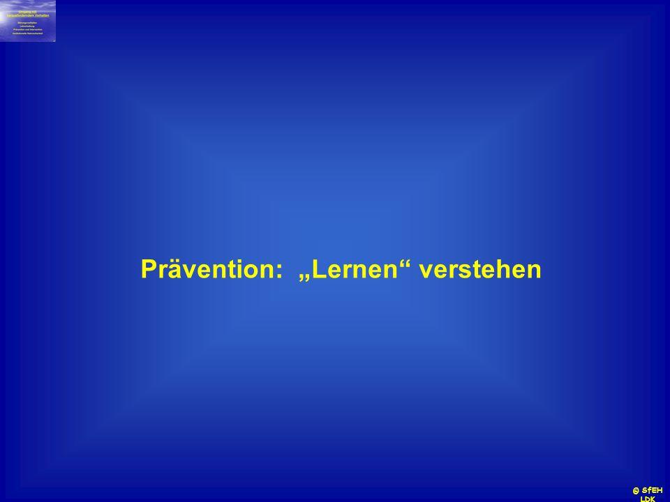 Prävention: Lernen verstehen