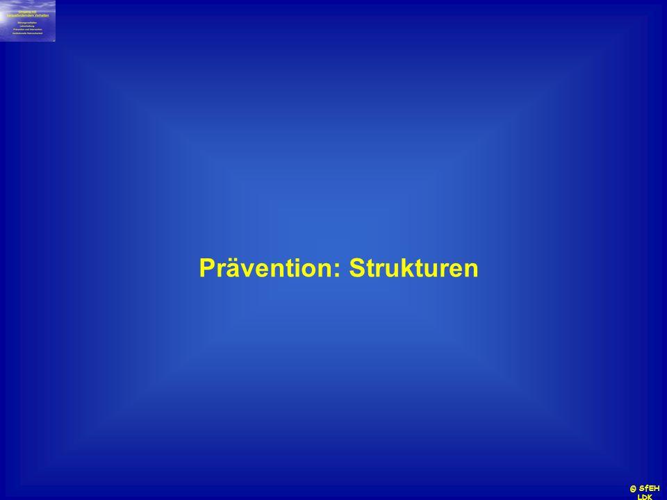 © SfEH LDK Prävention: Strukturen