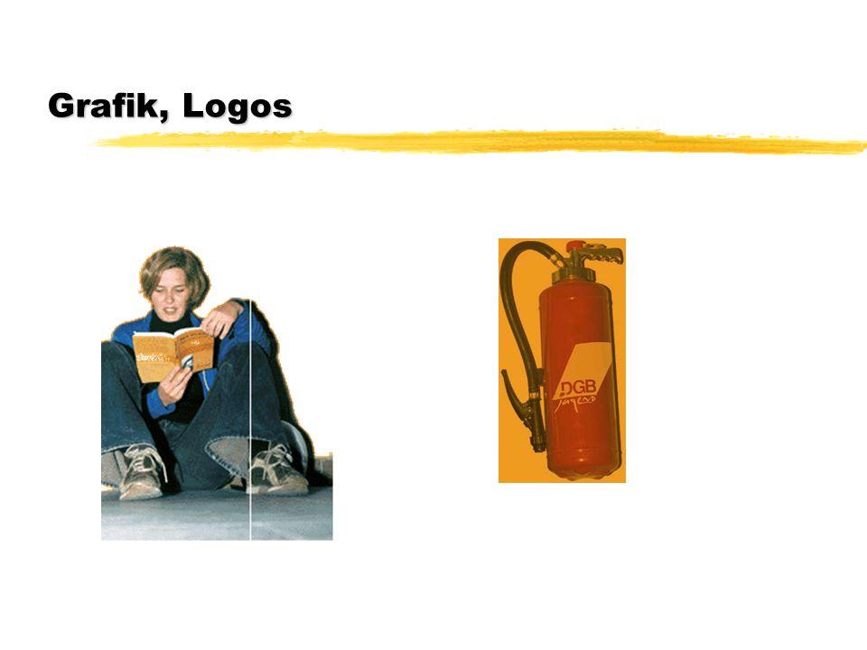 Grafik, Logos