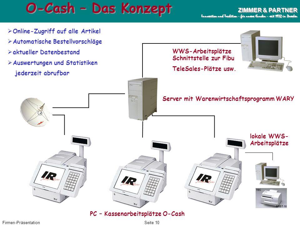 Firmen-PräsentationSeite 9 ZIMMER & PARTNER Innovation und Tradition – für unsere Kunden – seit 1932 in Dresden ZIMMER & PARTNER Innovation und Tradit