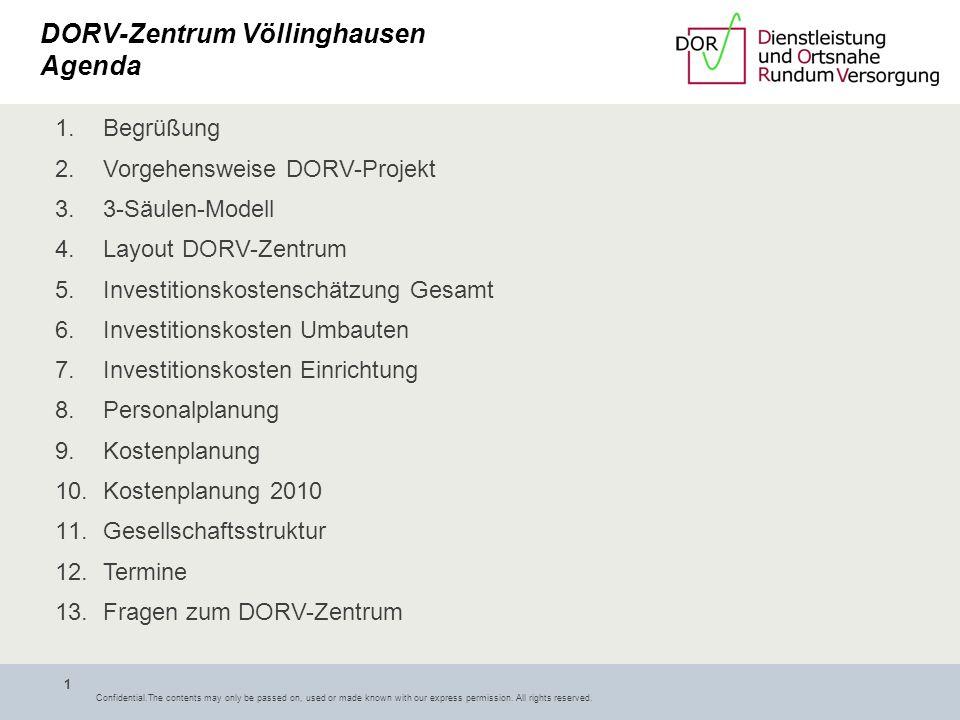Völlinghausen DORV-Zentrum Völlinghausen Informationsveranstaltung der Vereinsgemeinschaft am 02.04.09