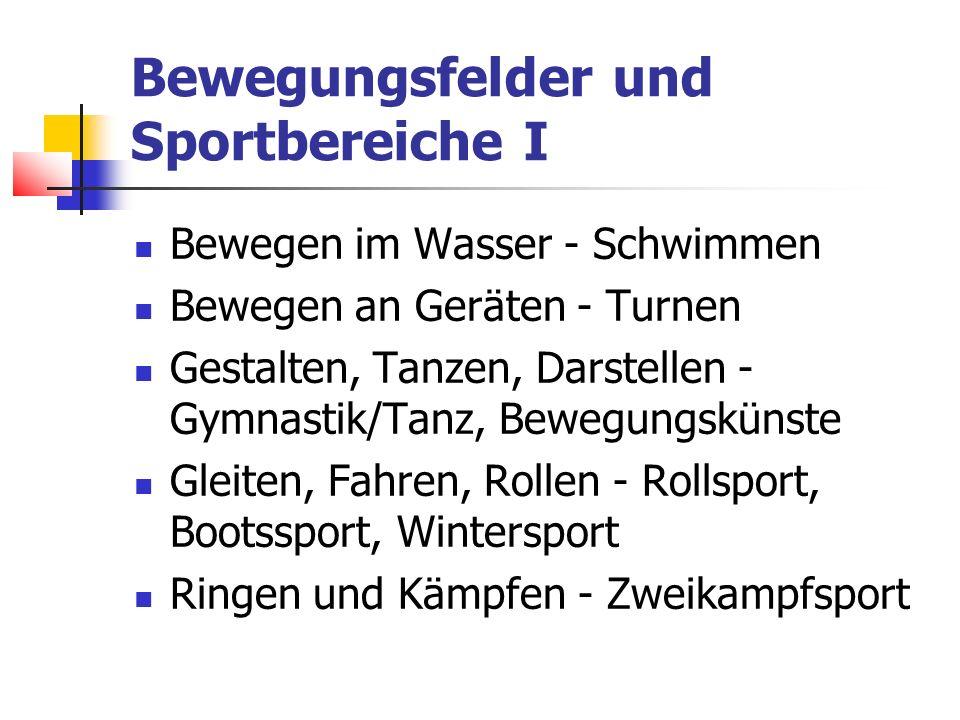 Bewegungsfelder und Sportbereiche II Laufen, Springen, Werfen – Leichtathletik Gegenstandsbereiche: ausgewählte leichtathletische Disziplinen Ausdauerlaufen, z.B.
