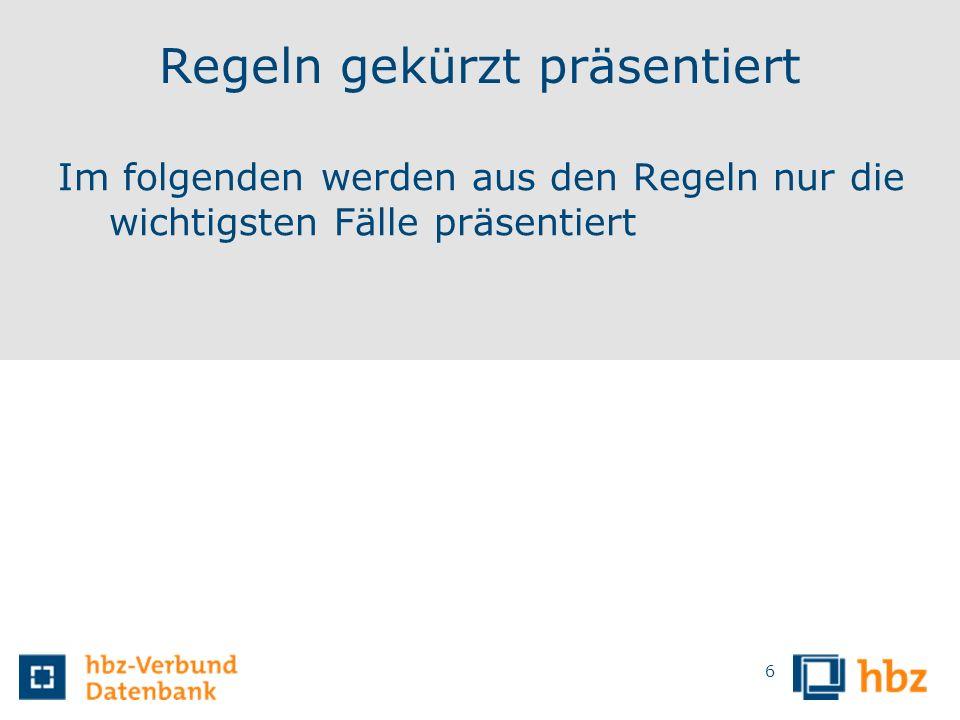 GND-Übergangsregeln Geografika G8 - 6 - Statusänderungen von unselbstständig zu selbstständig und umgekehrt (z.B.