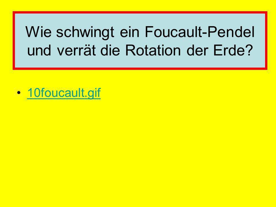 Wie schwingt ein Foucault-Pendel und verrät die Rotation der Erde? 10foucault.gif