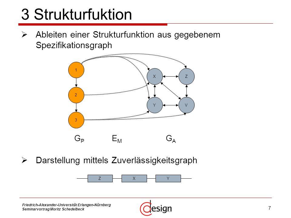 8 Friedrich-Alexander-Universität Erlangen-Nürnberg Seminarvortrag Moritz Schedelbeck 4 Redundanz Defintion Redundanz bezeichnet das funktionsbereite Vorhandensein von mehr technischen Mitteln, als für die spezifizierten Nutzfunktionen eines Systems benötigt werden.