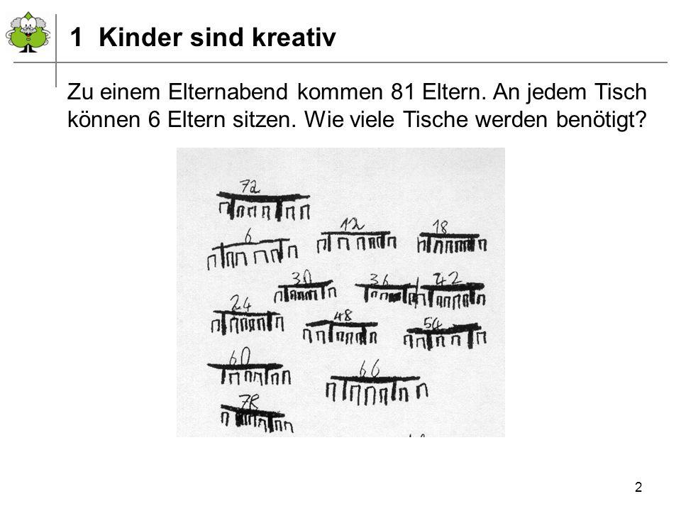 Juli 2010 © PIK AS (http://www.pikas.uni-dortmund.de/) 23 Haus 9: Informationsmaterial Kinder rechnen anders