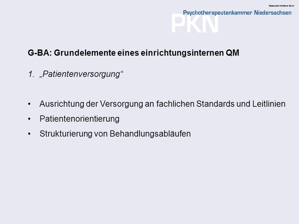 20 1 Einführung Rahmenbedingungen der Qualitätssicherung Qualitätspolitik und Qualitätsziele Darlegung und Prüfung