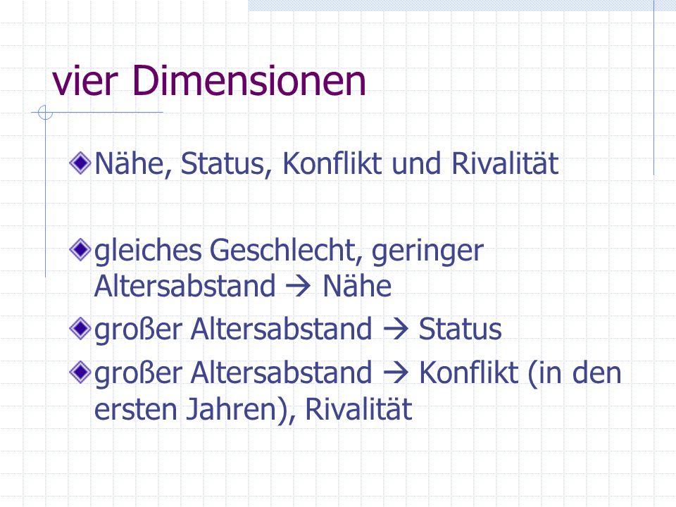 mittlere und späte Kindheit zu den Studien 7. bis 12. Lebensjahr keine Studien in Deutschland erstmaliges Interview mit den Kindern selbst