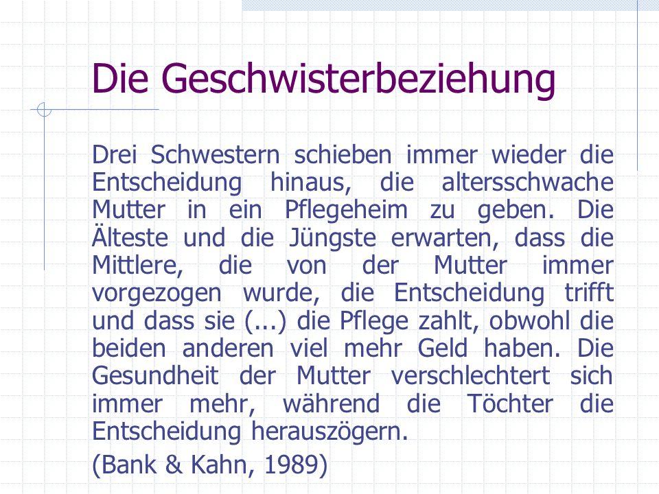 Geburtenrangplatz C.Ernst & J.