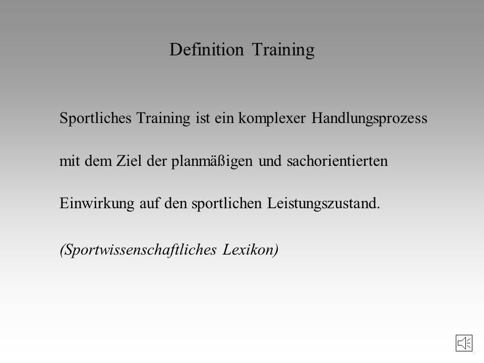 Definition Trainingswissenschaft Die Trainingswissenschaft ist diejenige Teildisziplin der Sportwissenschaft, die das sportliche Training und die dara