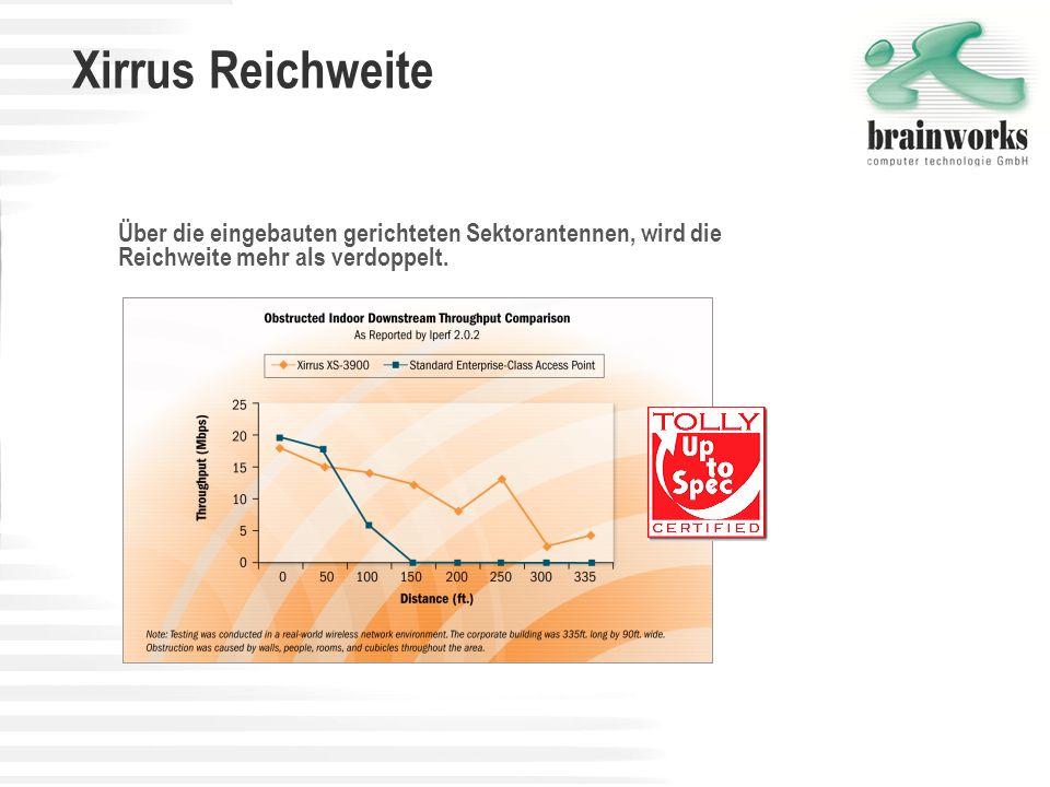 Xirrus Wi-Fi-Arrays versus zentrale Switch-basierende Systeme