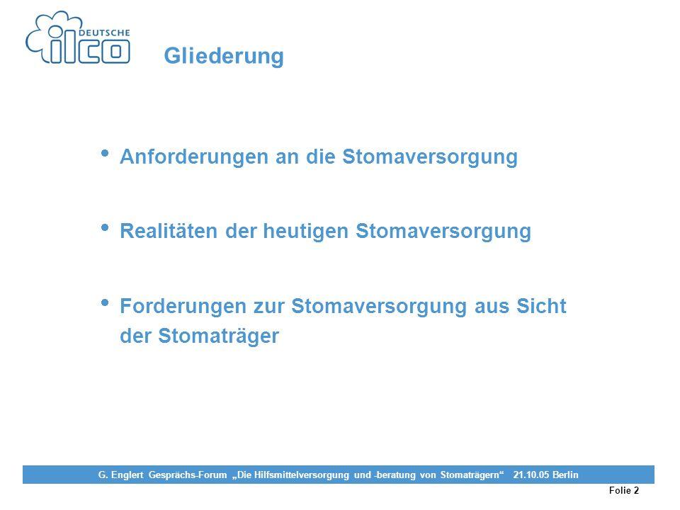 Folie 2 Projekt Darmkrebs-Informationsstelle, gefördert von der Deutschen Krebshilfe Vereinigung von Stomaträgern (künstlicher Darmausgang, künstliche