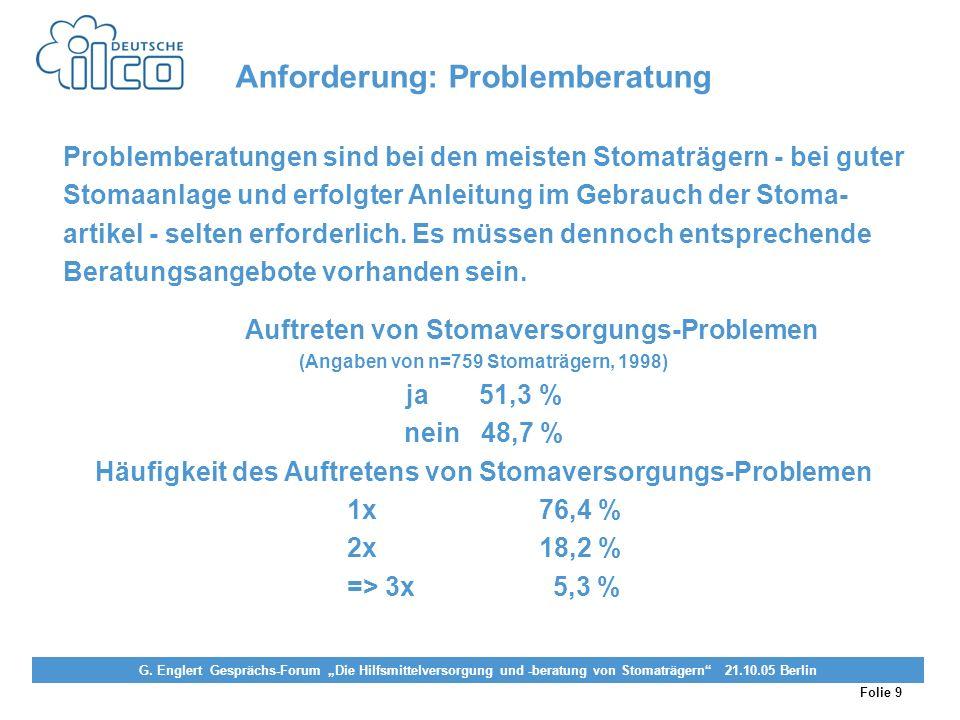 Folie 9 Projekt Darmkrebs-Informationsstelle, gefördert von der Deutschen Krebshilfe Vereinigung von Stomaträgern (künstlicher Darmausgang, künstliche