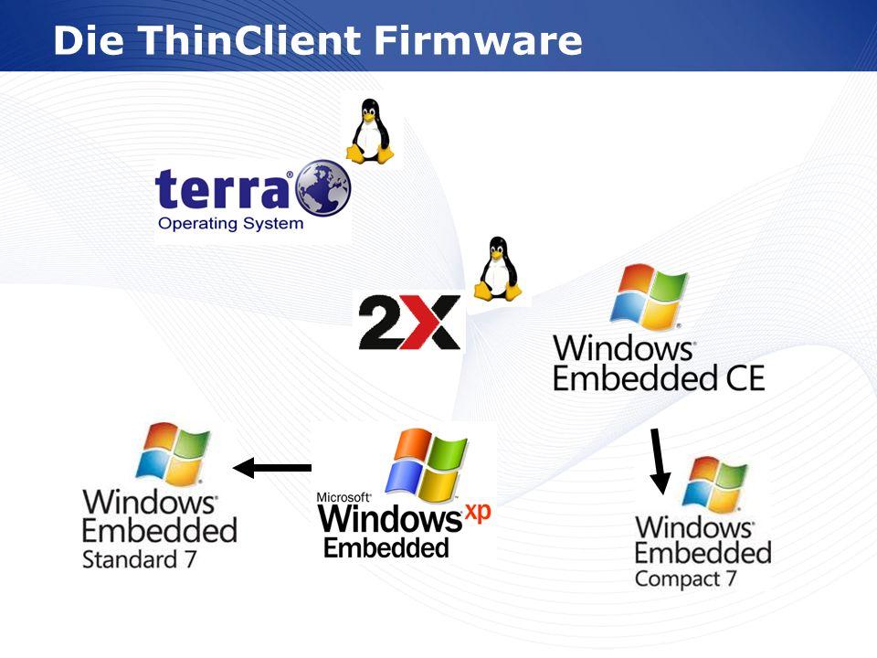 www.wortmann.de ThinClient Computing Zentrale Administration Skalierbarkeit Verbesserte Sicherheit Hyper-V und RemoteFX Citrix XenDesktop VmwareView