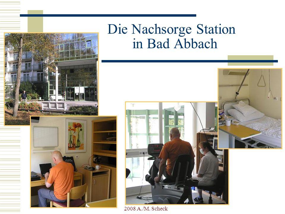 2008 A./M. Scheck Die Nachsorge Station in Bad Abbach