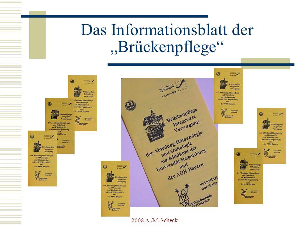 2008 A./M. Scheck Das Informationsblatt der Brückenpflege