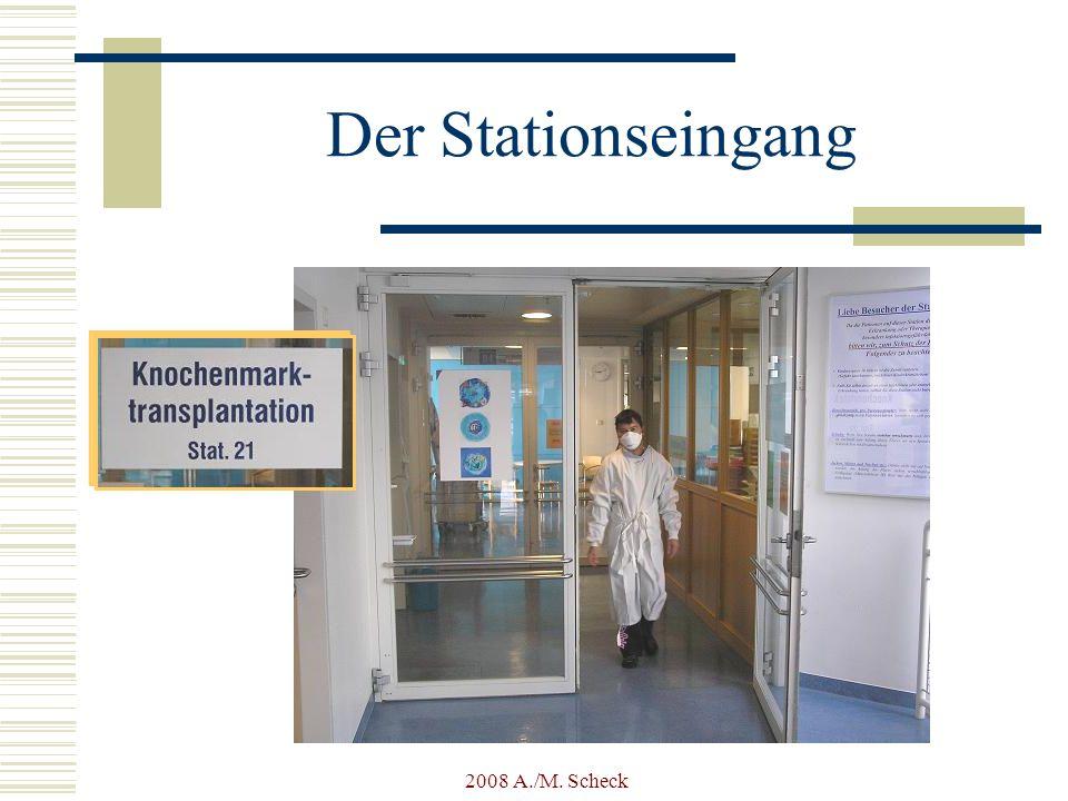 2008 A./M. Scheck Der Stationseingang