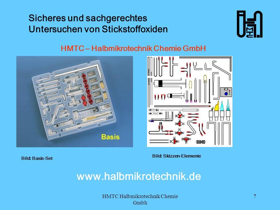 HMTC Halbmikrotechnik Chemie Gmbh 7 Sicheres und sachgerechtes Untersuchen von Stickstoffoxiden HMTC – Halbmikrotechnik Chemie GmbH HMTC Bild: Basis-S