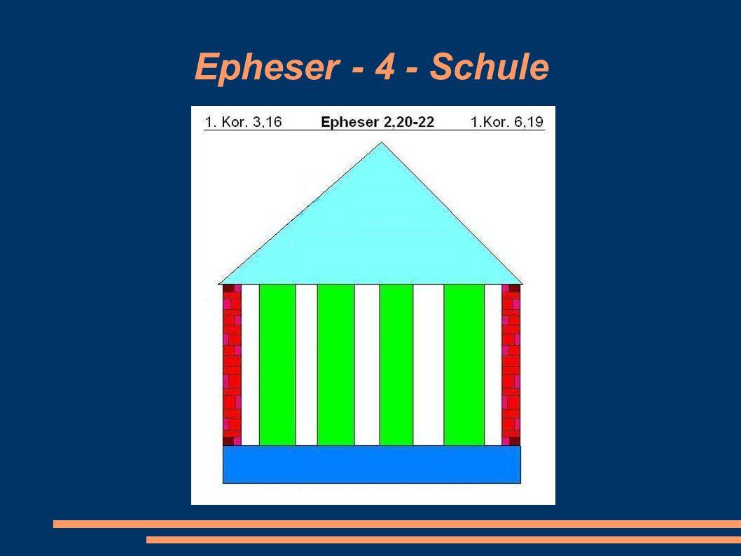 Epheser - 4 - Schule Arche Zentrum Wesel