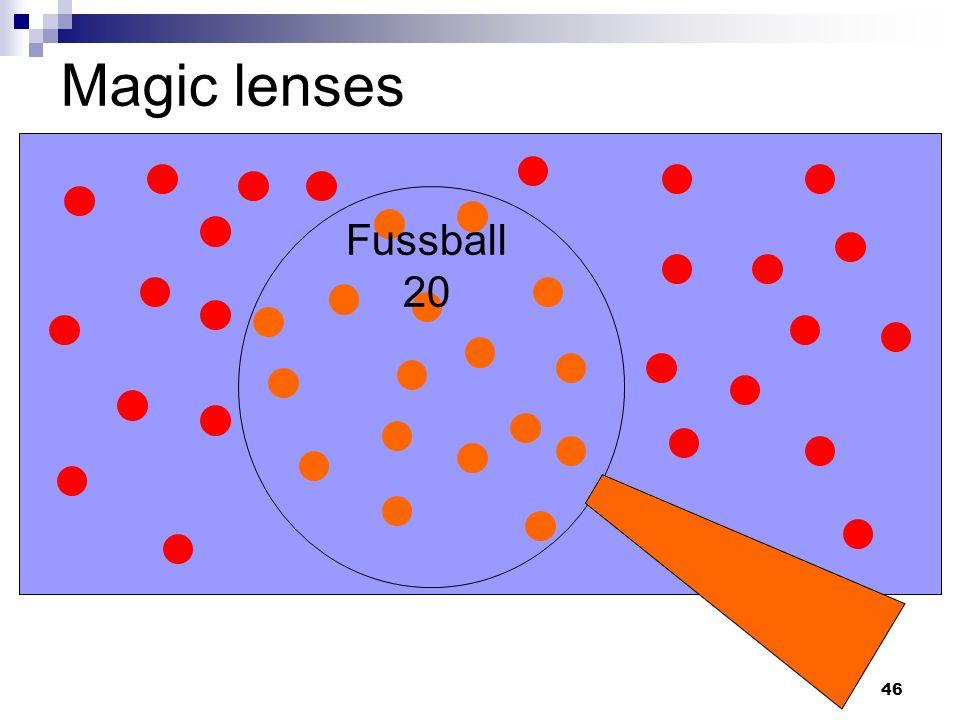 46 Magic lenses Fussball 20