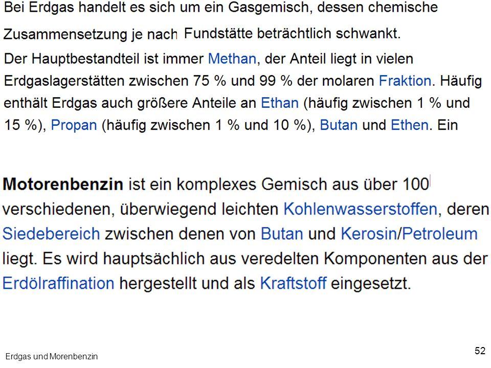 52 Erdgas und Morenbenzin