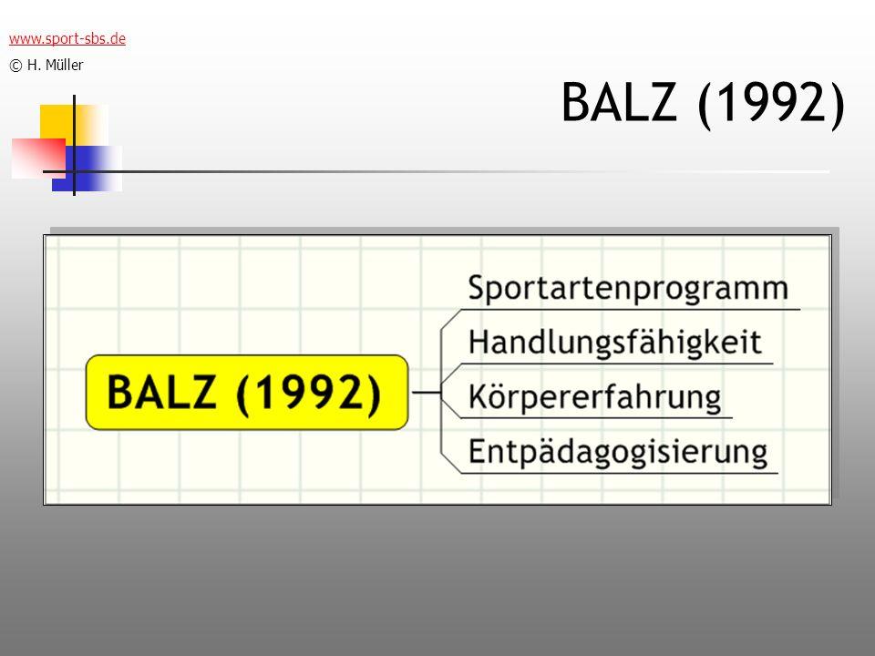 BALZ (1992) www.sport-sbs.de © H. Müller