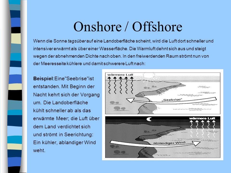 Onshore / Offshore Beispiel:Eine