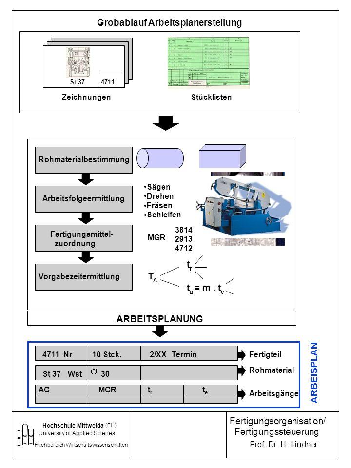 Hochschule Mittweida University of Applied Sciences Fachbereich Wirtschaftswissenschaften Prof.
