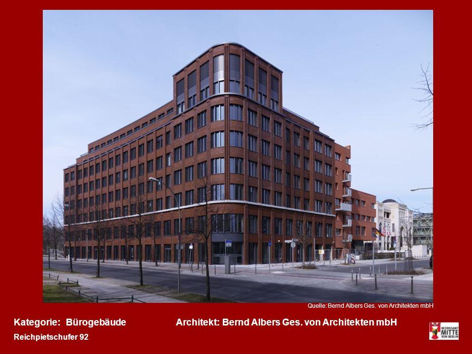 Kategorie:Architekt:BürogebäudeBernd Albers Ges.