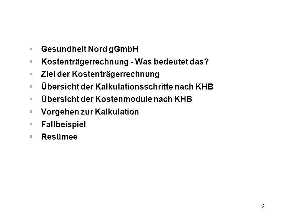 3 Vorstellung der Kliniken der Gesundheit Nord gGmbH Senator-Weßling-Str.1 28277 Bremen www.klinikum-bremen-ldw.de Züricher Str.