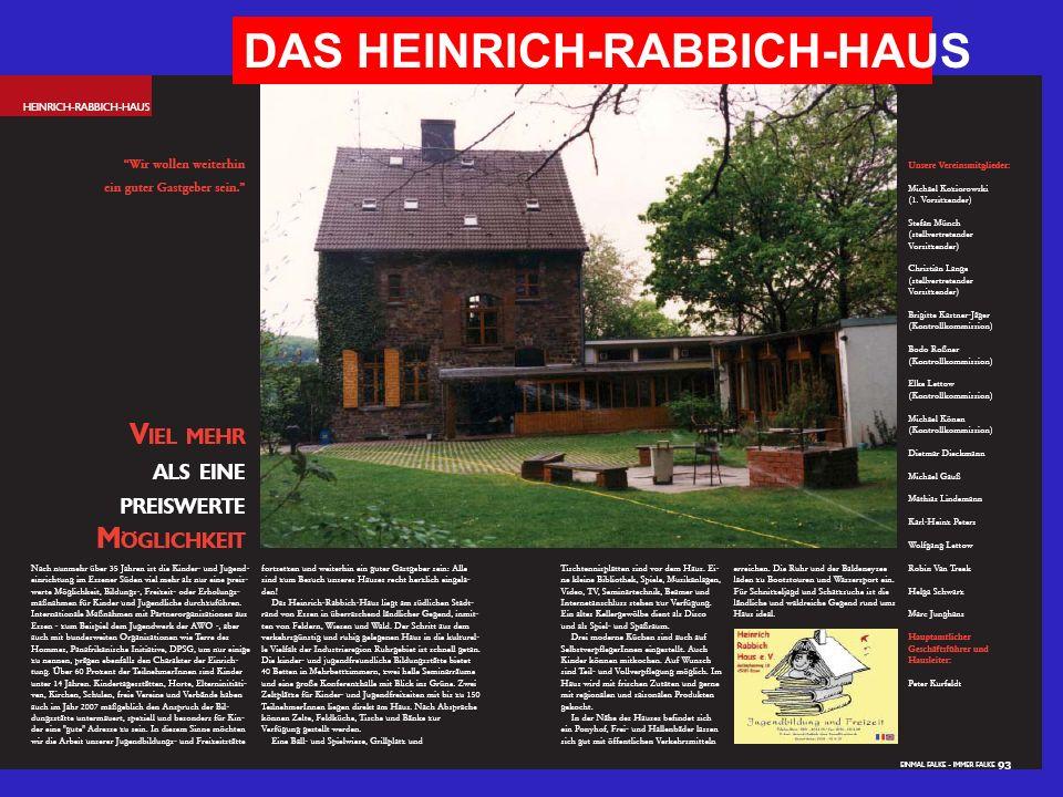 DAS HEINRICH-RABBICH-HAUS