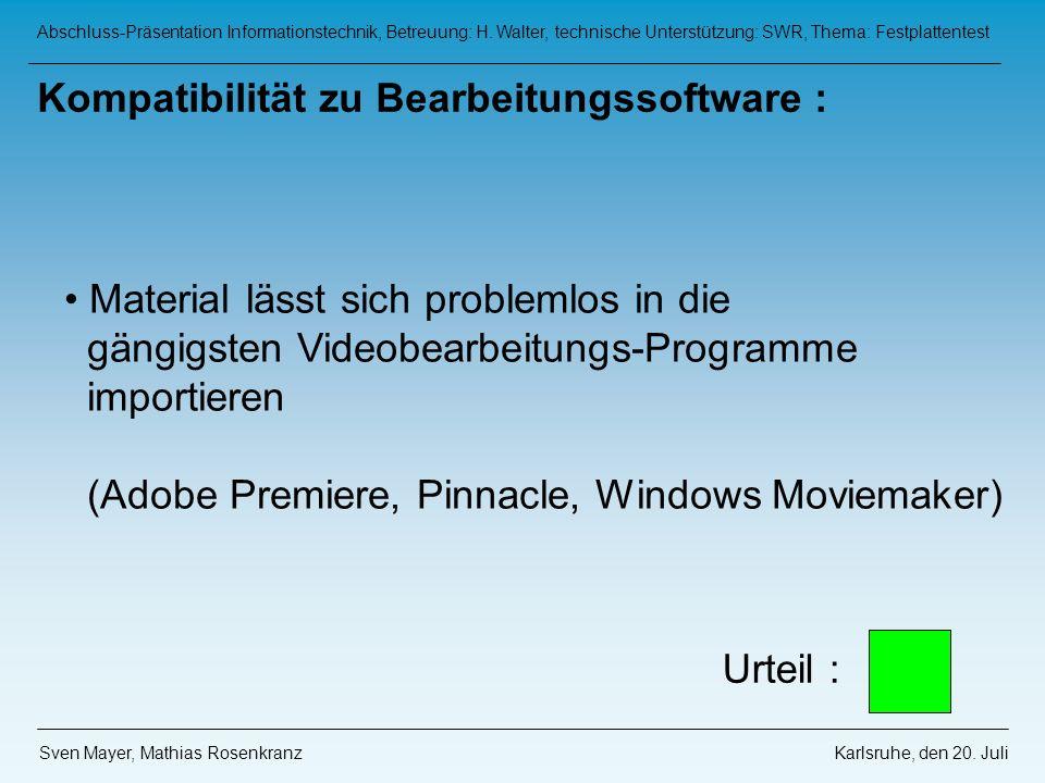 Abschluss-Präsentation Informationstechnik, Betreuung: H.
