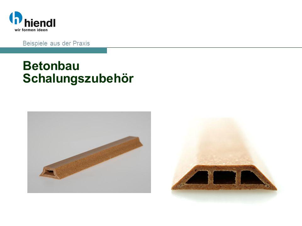 Betonbau Schalungszubehör Beispiele aus der Praxis
