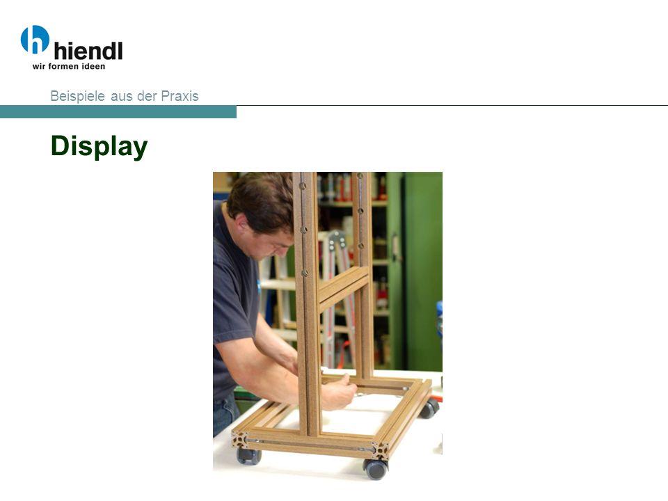 Display Beispiele aus der Praxis