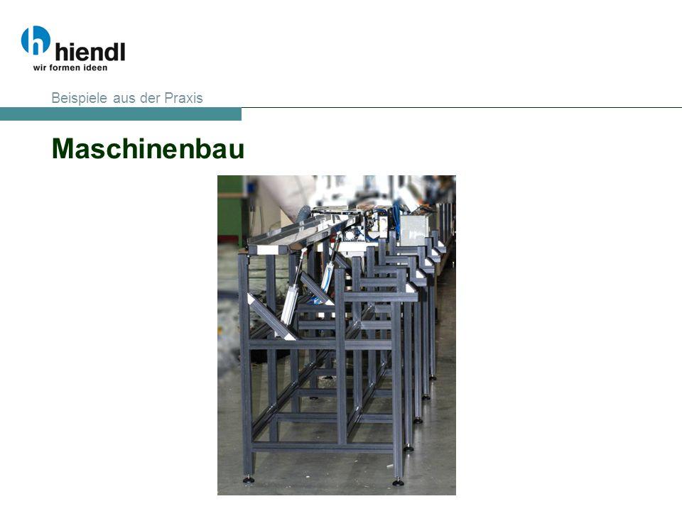 Maschinenbau Beispiele aus der Praxis