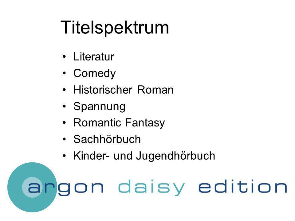 Titelspektrum Literatur Comedy Historischer Roman Spannung Romantic Fantasy Sachhörbuch Kinder- und Jugendhörbuch