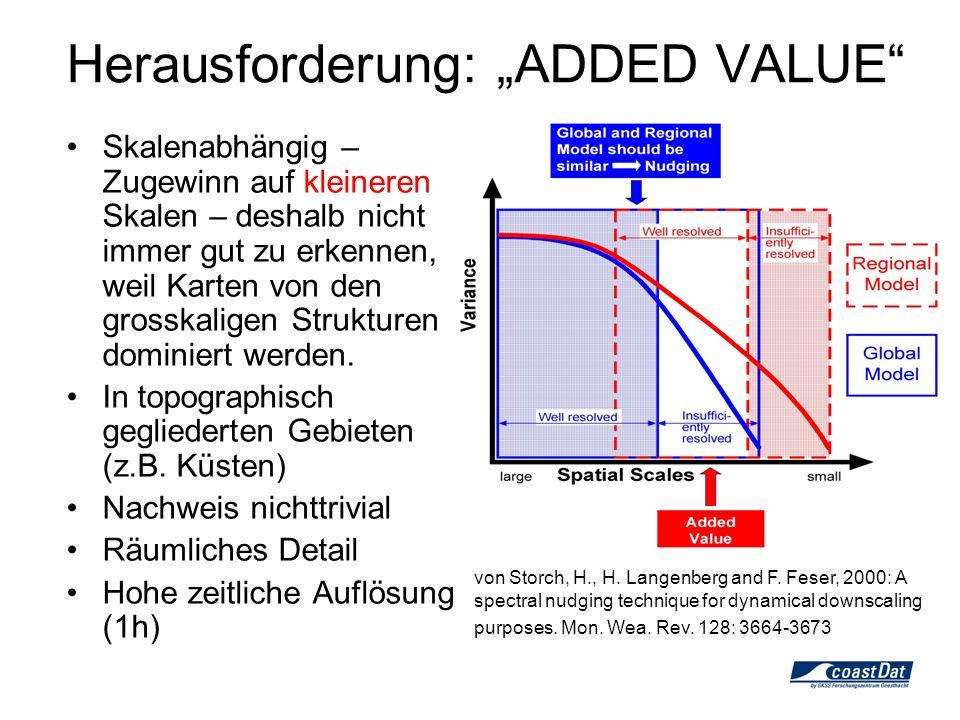 Added value … … stellt sich in den Anwendungen heraus.