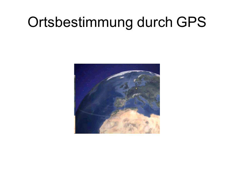 Ortsbestimmung durch GPS