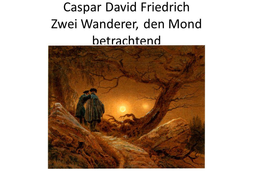 Caspar David Friedrich Der Wanderer über dem Nebelmeer