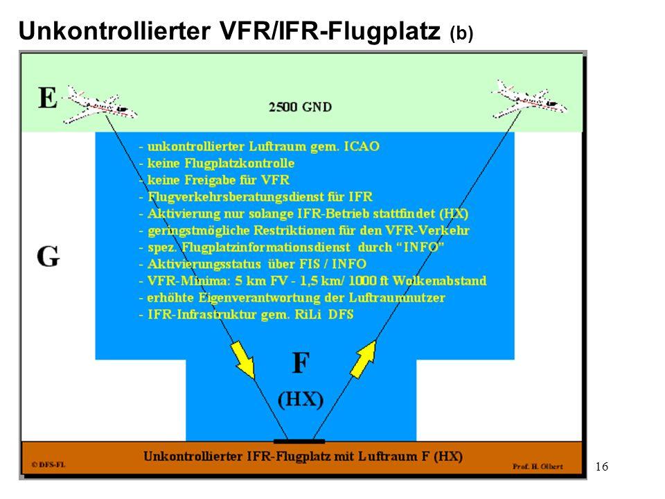 17 Kontrollierter VFR/IFR-Flugplatz (a)