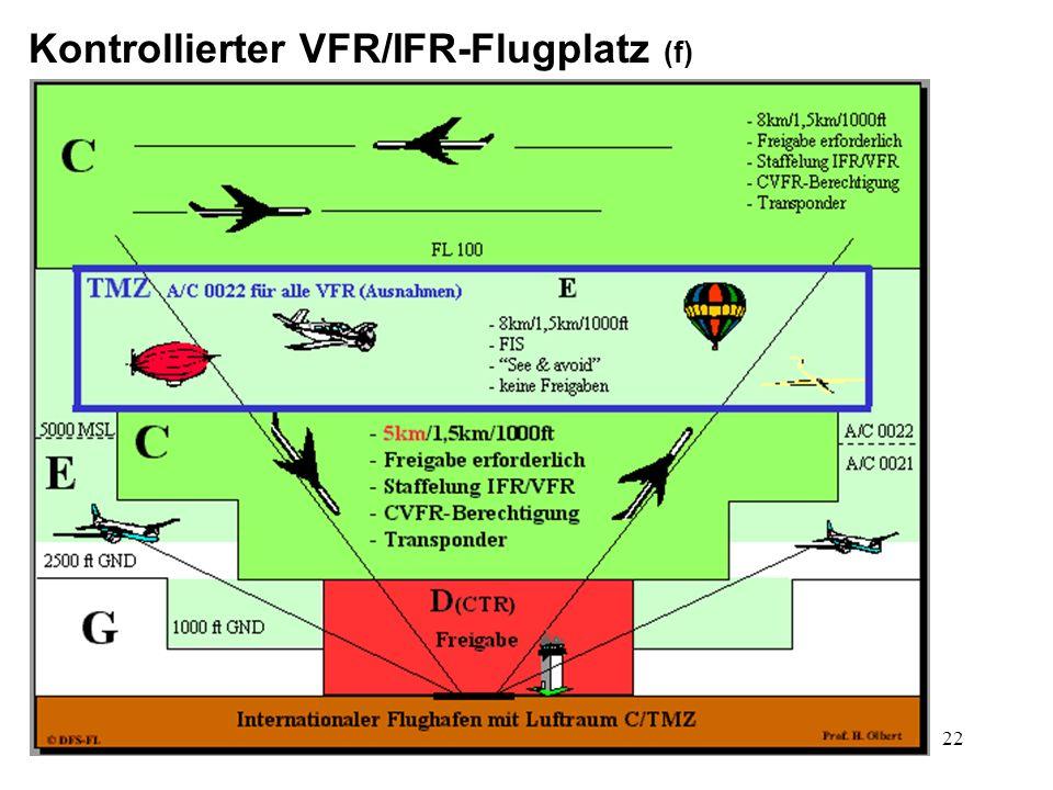 23 Kontrollierter VFR/IFR-Flugplatz (g)