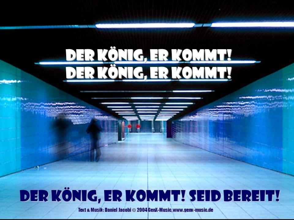 Hier vor Deinem Thron - Start Text & Musik: Daniel Jacobi & Claas Jambor © 2003 GenX-Music, adm.