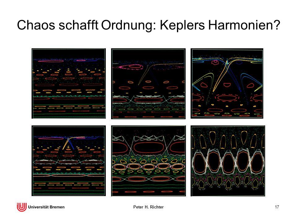 Peter H. Richter17 Chaos schafft Ordnung: Keplers Harmonien?